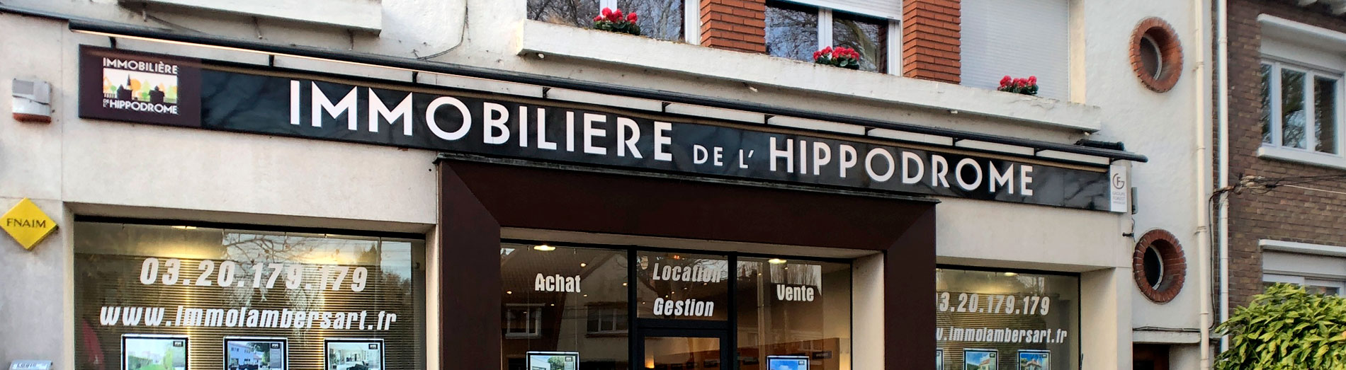 Agence immobiliere hippodrome Lambersart